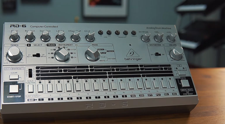 Behringer Drum machine