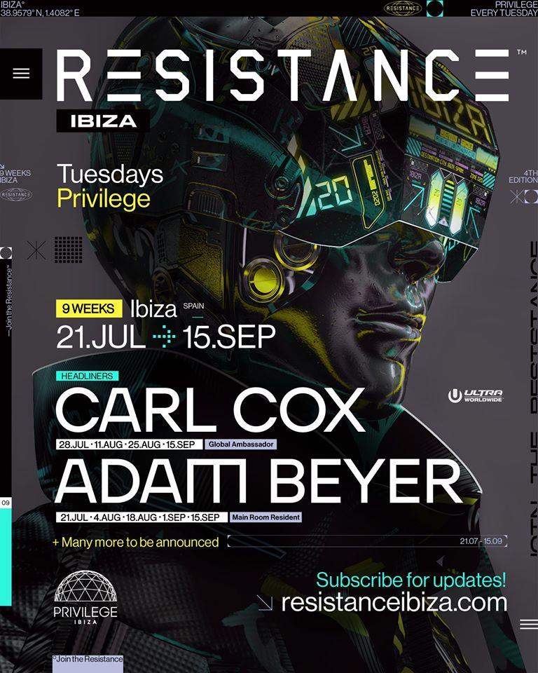 Resistance Ibiza 2020