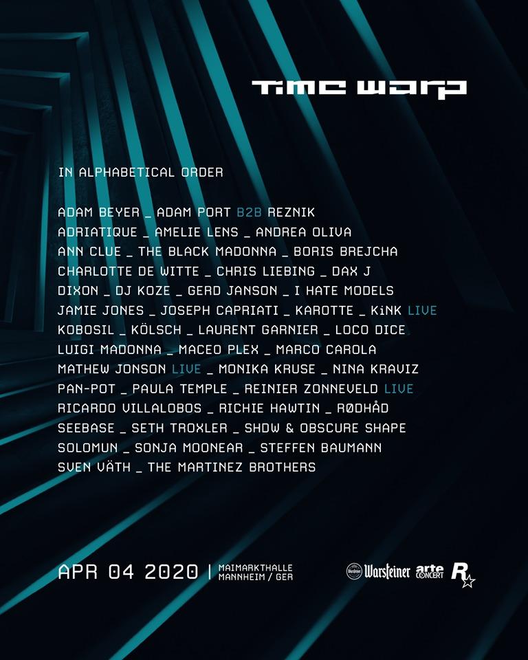 Time Warp Festival 2020